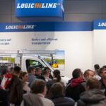 Dichtes Gedränge am LogicLine Messestand