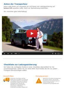 LogicLine: Spannender Newsletter zu Ladungssicherung und Co.