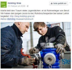 Personalmarketing im Handwerk: Holding Graz