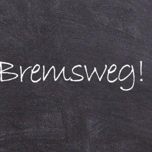 Bremsweg