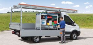 Lastenträger und Werkzeugbox